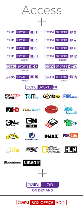 Bein Complete Advance Package 1 Year Subscription