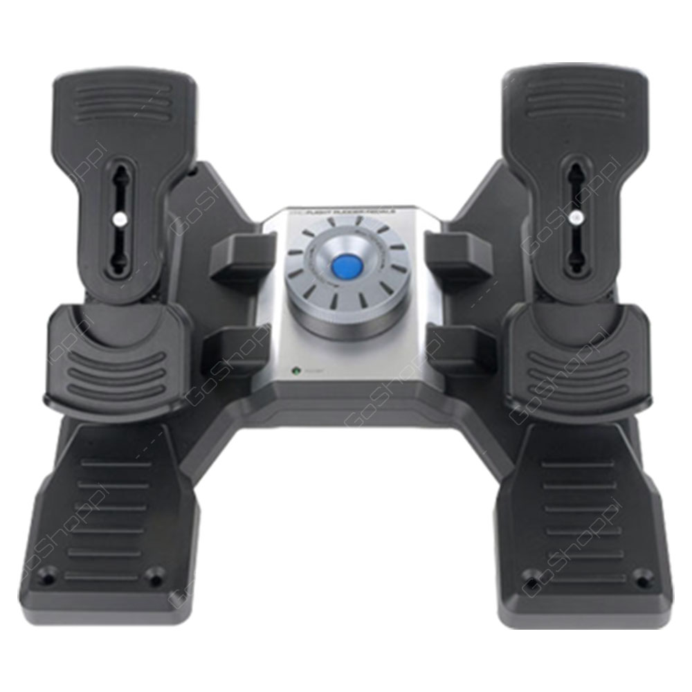 Logitech  Flight Rudder Panel - Professional Simulation Rudder Pedals With Toe Brake
