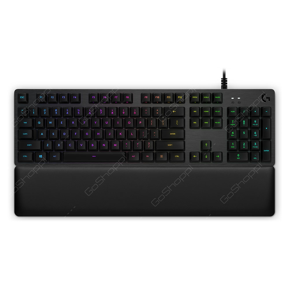 Logitech Gaming Keyboard Wired G513 Carbon RGB Mechanical GX Blue Clicky New