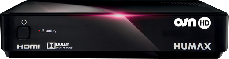 OSN  Humax HD - 1000/ME  - OSN Sports Package HD-1000S